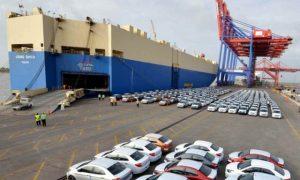 Importación de vehículos bajó 9.99% en los primeros 7 meses del 2020