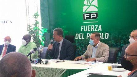 Leonel: «La democracia no existe sin partidos políticos»