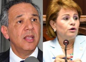José Ramón Peralta y Lucía Medina rechazan más impuestos de Gobierno
