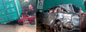LA VEGA: Dos muertos y varios heridos en choque en la autopista Duarte