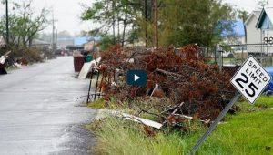 EU: Ciclón Delta toca tierra en Luisiana, que aún no se recupera de Laura