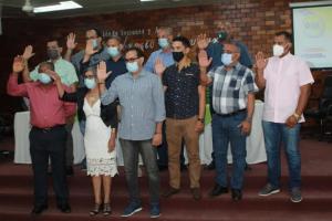 SANTIAGO RODRIGUEZ: Posesionan directiva del Clúster Turístico
