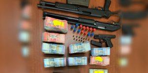 SANTIAGO: Ocupan más RD$7 MM y 6 vehículo en allanamiento en Gurabo