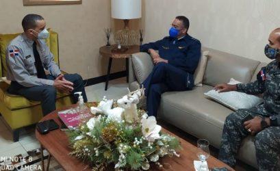 Director de la PN manifiesta apoyo al Circulo Deportivo Militar de la RD