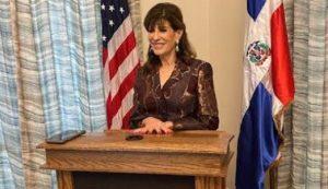 Embajadora Bernstein asegura EEUU mantendrá colaboración gobierno RD