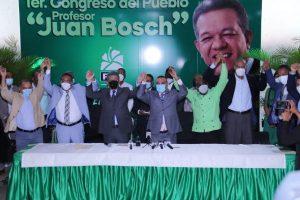 Leonel afirma que la Fuerza del Pueblo se convierte en organización ganadora