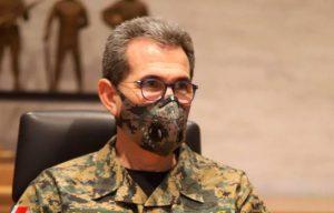 Ministro de Defensa, Carlos Díaz Morfa, dice dio positivo a COVID-19