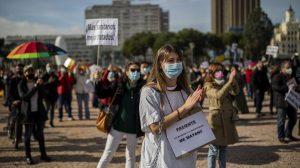 ESPAÑA: Noviembre funesto con más de 9.000 muertos por la pandemia