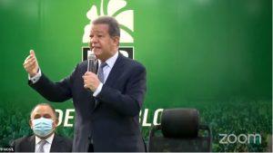 "Leonel plantea ""diálogo político serio"" para resolver la crisis que afecta Haití"