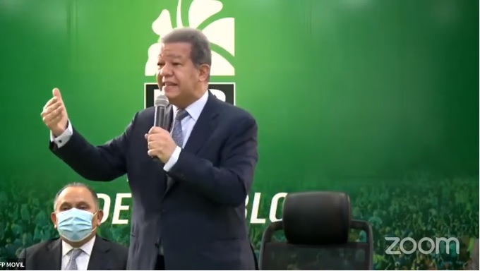 Leonel propone un pacto social para cuando pase crisis generada por covid