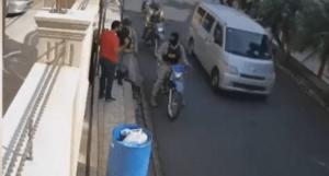 Vocero alega no son policías los que apresaron hombre que botaba basura