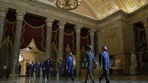 EEUU: Llega al Senado acta acusación del juicio político contra Donald Trump