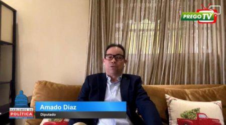Diputado Díaz ve extemporáneo hablar de reelección Luis Abinader