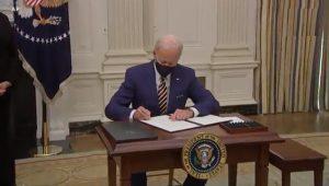 EE.UU: Joe Biden decreta primeras medidas contra la crisis económica