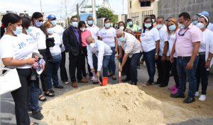 CAASD y Junta Municipal de Pantoja inician ampliación sistema distribución de agua