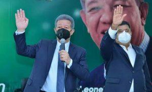 Leonel juramenta en Fuerza del Pueblo al exsenador Euclides Sánchez