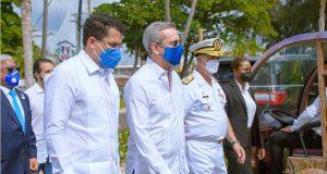 Abinader entrega local para oficiales de la Armada que costó $28 millones