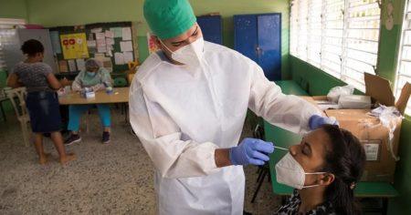 R. Dominicana notifica 1,473 nuevos contagios y 14 defunciones por Covid