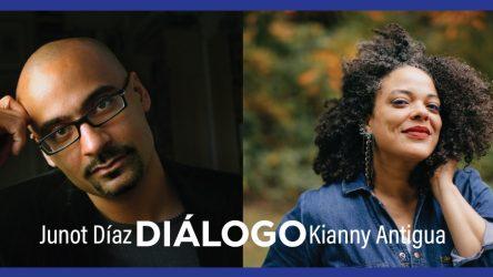 Junot Díaz y Kianny Antigua hablarán sobre creación literaria en la diáspora