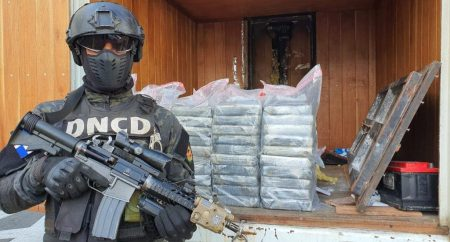 DNCD decomisa en Haina Oriental 60 paquetes cocaína venían de Colombia