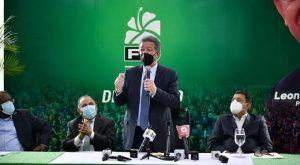 Leonel apoya pacto propuso Luis Abinader para reactivar la economía