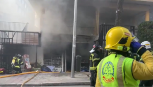MADRID: Detienen menores origen dominicano por incendio bazar chino