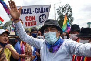 ECUADOR: Marcha indígena llega a Quito para exigir un recuento electoral