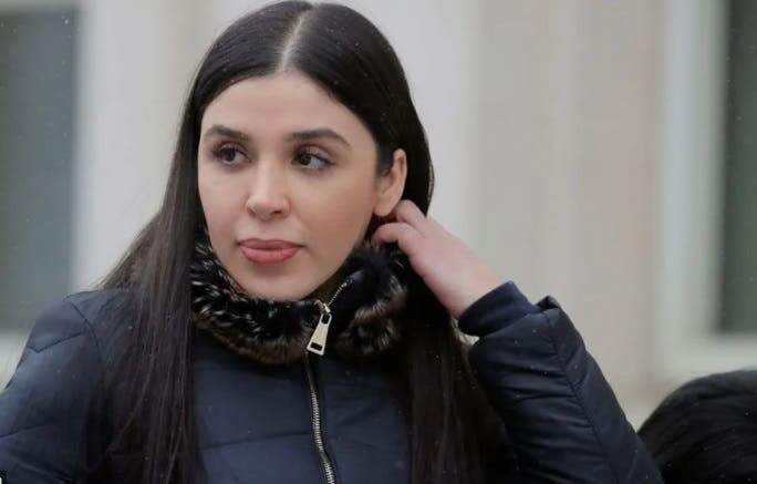 La esposa de 'El Chapo' se entregó al FBI de forma voluntaria
