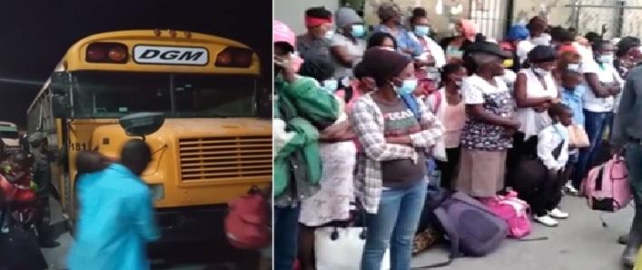 134 haitianos indocumentados son detenidos en hoteles de Elías Piña