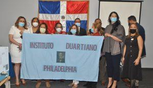 FILADELFIA: Instituto Duartiano dicta  conferencia sobre símbolos patrios