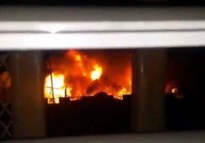 Incendio por cortocircuito provoca daños en la cárcel de La Victoria