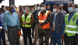 Obras Públicas interviene a Santo Domingo Este con amplio operativo
