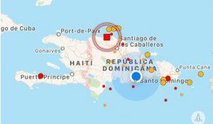 Temblor 4.2 grados sacudió este lunes a Puerto Plata y otras zonas de la RD