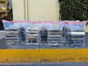 SPM: Las autoridades ocupan 60 paquetes de cocaína