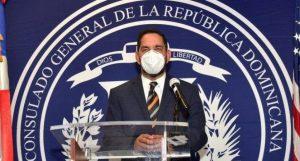 Consulado RD contrata empresa para desinfectar y evitar contagios covid-19