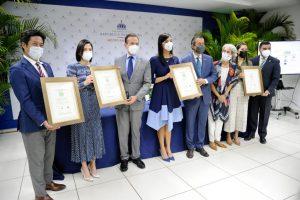 Reconocen instituciones por buenas prácticas de sostenibilidad ambiental