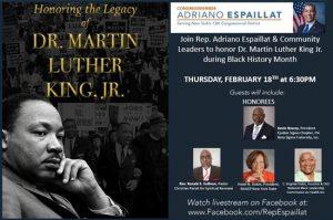 Espaillat encabezará mesa virtual en honor Mes de Historia Afroamericana