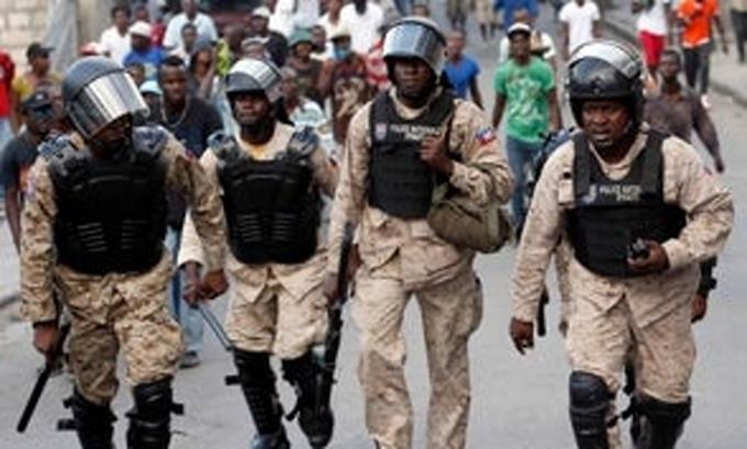 Días grises para la Policía de Haití