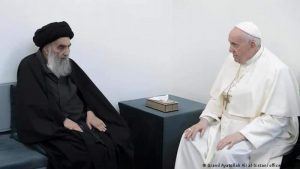 IRAK: Encuentro histórico entre el papa Francisco y el ayatolá Al Sistani