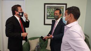 MIAMI: Alcalde recibe al director de Planeamiento Urbano Distrito Nacional