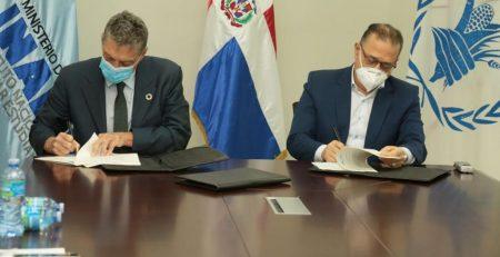 INABIE firma acuerdo sobre nutrición con Programa Mundial de Alimentos