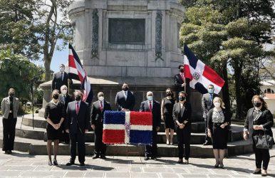 COSTA RICA: Embajada conmemora 177 aniversario independencia de RD
