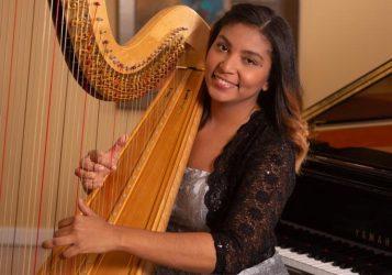 CANADA: Arpista dominicana realiza concierto por independencia de RD