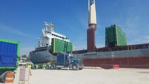 BARAHONA: Empresa minera inicia  exportación de carbonato de calcio