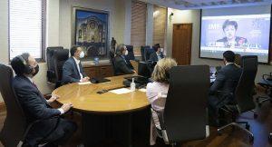 Valdez Albizu expone a FMI medidas fiscales para reactivar economía RD
