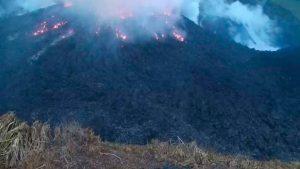 Nueva explosión volcánica en San Vicente y las Granadinas