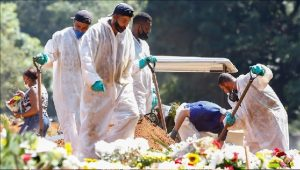 Brasil supera 355.000 muertes por covid, con 3.000 fallecidos diarios