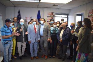 NUEVA YORK: Tirso Piña, aspirante a concejal, inaugura comando campaña