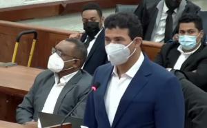 Juez ratifica prisión preventiva al mayor general Adan Cáceres