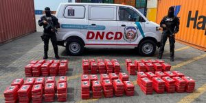 Incautaron 299 paquetes de cocaína en el Puerto Multimodal Caucedo